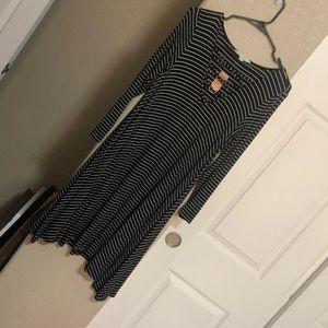 American Eagle NWT soft & sexy striped dress
